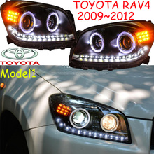 RAV4 headlight,2009~2012,SUV,Free ship! RAV4 fog light,RAV4 Offroad light,2ps/set+2pcs Ballast,rav4 driver light,RAV 4