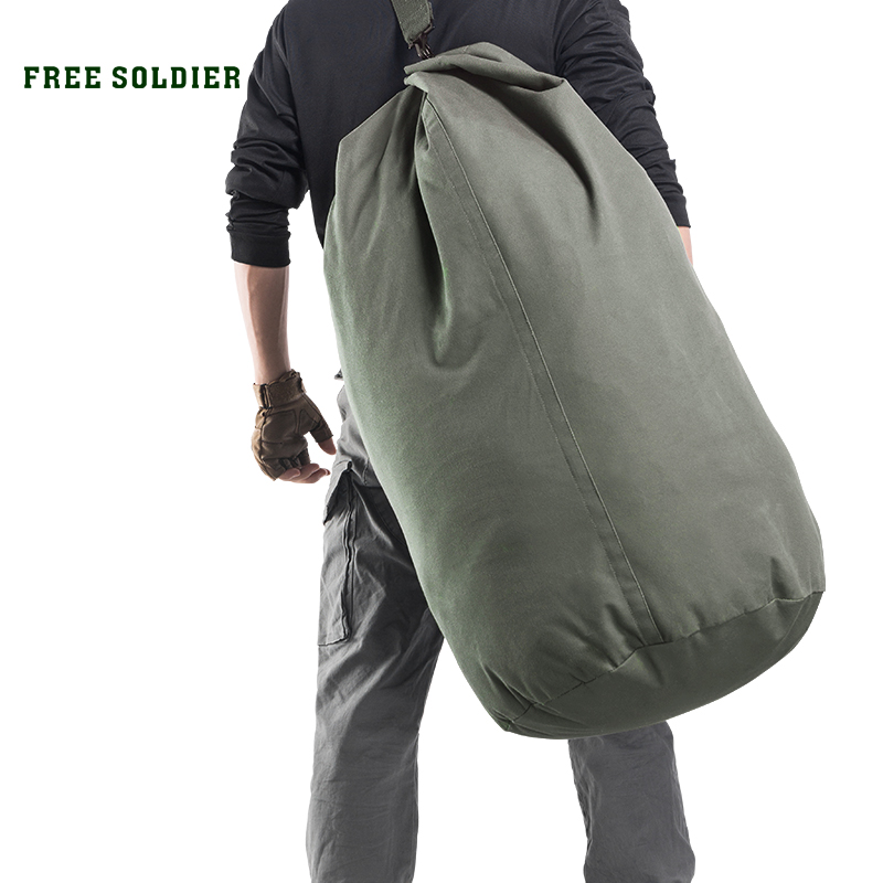 FREE SOLDIER outdoor sports tactical 100L large capacity Men backpack for camping hiking Collapsible bag