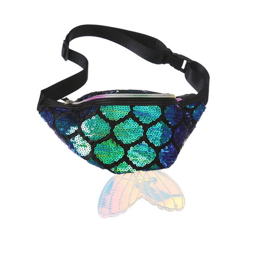 4fc816d06b98 🛒BEST SALE | Sequins Printing Unicorn Waist Bag for Women Fashion ...