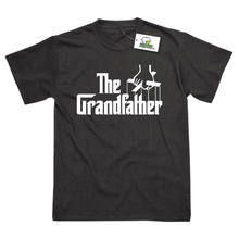 58cd7748b The Grandfather Grandad Birthday Fathers Day Present Funny Printed T-Shirt  Cool Casual pride t shirt men Unisex New Fashion