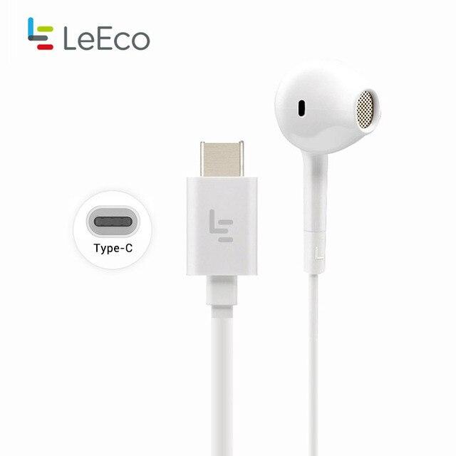 USB Type C Earphones, Letv Leeco CDLA Earphone HiFi Chip Inbedded Continual Digital Lossless Audio for LeEco le 2 Pro