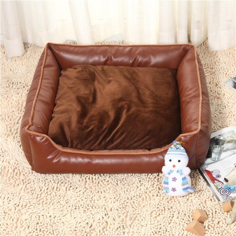 고품질 방수 PU 개집식 빨 애완 동물 용품 애완 동물 둥지 개 침대 매트 개 제품 강아지 침대 소프트 편안한 코지 스 소파