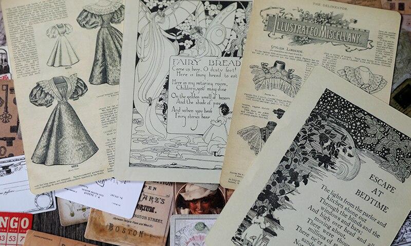 Scrapbooking DIY Artesanato Adesivos