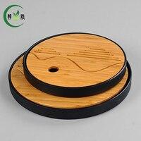 R Bamboo Tray High Quality Plastic Pot Teaset Trivet Teaset Tray Tea Set