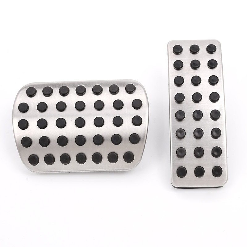 2pcs Car Gas Fuel Brake Pedal For Mercedes benz A-Class W176 B W246 CLA C117 GLS GLE <font><b>W166</b></font> <font><b>ML</b></font> R Class W251 Accessories image