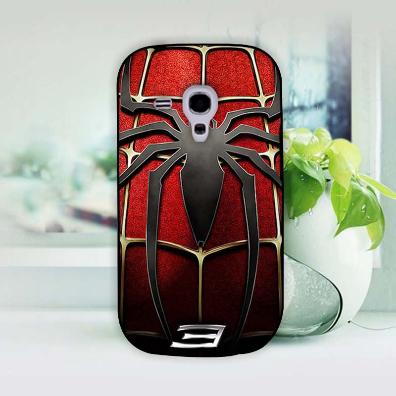 <font><b>Spider</b></font> <font><b>Man</b></font> <font><b>Symbol</b></font> Hard Black Case for <font><b>Samsung</b></font> <font><b>Galaxy</b></font> S3 S3Mini S4 S4 <font><b>Mini</b></font>