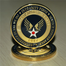 The U.S. United States Air Force Airman Award Aim High quality Fly Fight Win Military Challenge Coins 20pcs/lot free shipping