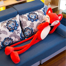 New Arrival Short Plush Toy Fox Doll Pillow Stuffed Animal Toys Creative Gift For Childrens