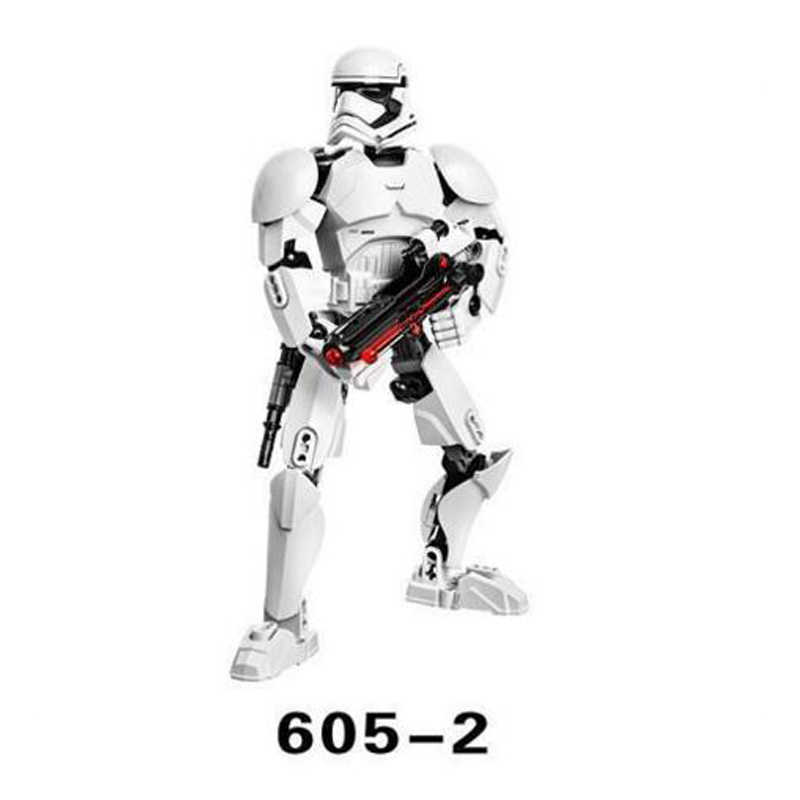 Lepining Star War The Last Jed Buildable Action Figure Rey Kyle Ren Luke Skywalker Building Block Toy lepining Brick