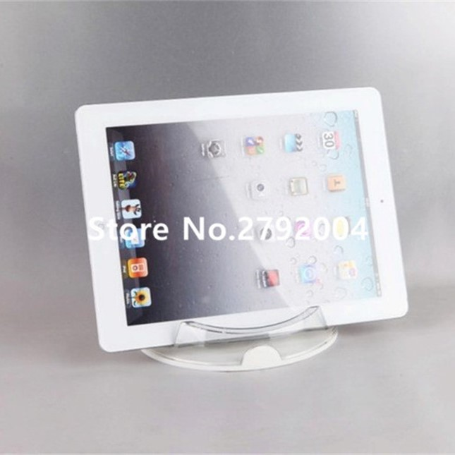 10pcs/lot Hot sale and good quality clear acrylic stand for pad|base samsung|base pc|base stand - title=