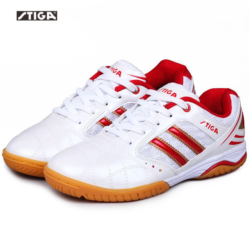 Stiga/Обувь для настольного тенниса; Домашние спортивные мужские и женские нескользящие дышащие кроссовки; устойчивые кроссовки; Zapatillas Deportivas Mujer