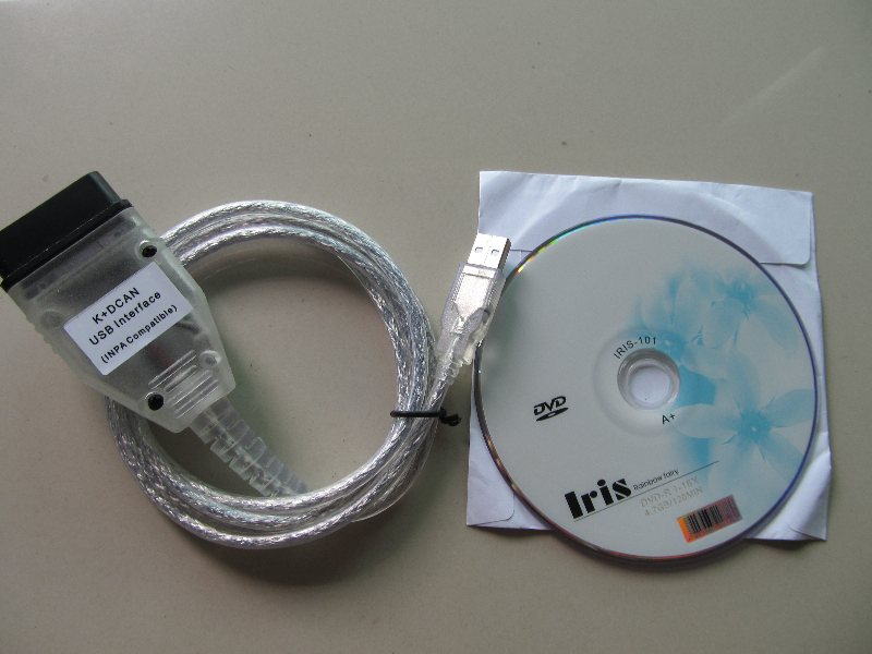 for bmw inpa k can ft232rl chip / ediabas k d-can usb interface diagnostic cable for BMW From 1998 To 2008 image