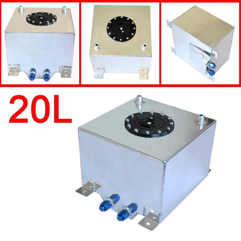 Universal 20 Litre Fuel Surge Tank Swirl Pot System Alloy Aluminum Petrol Cans