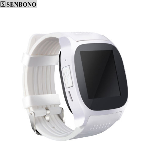 SENBONO New T8 Bluetooth Smartwatch Support SIM & TF Card