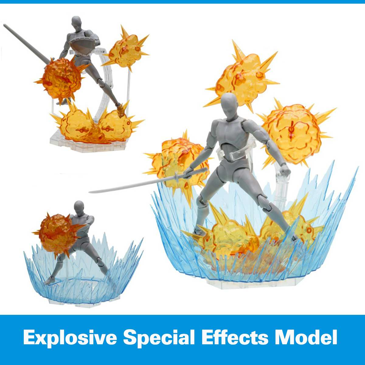 Model Special-Effects-Series Tamashii-Effect Ground Impact for Crack Soul Star Explosion