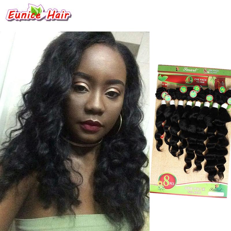 Cheap Euncie Hair Mongolian Kinky Curly Hair Weft 8pcspack