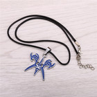 H&F Hot Anime Fate/stay night Bronze Metal Necklace Blue Logo Pendant Cosplay Accessories Jewelry can Drop-shipping YS10505