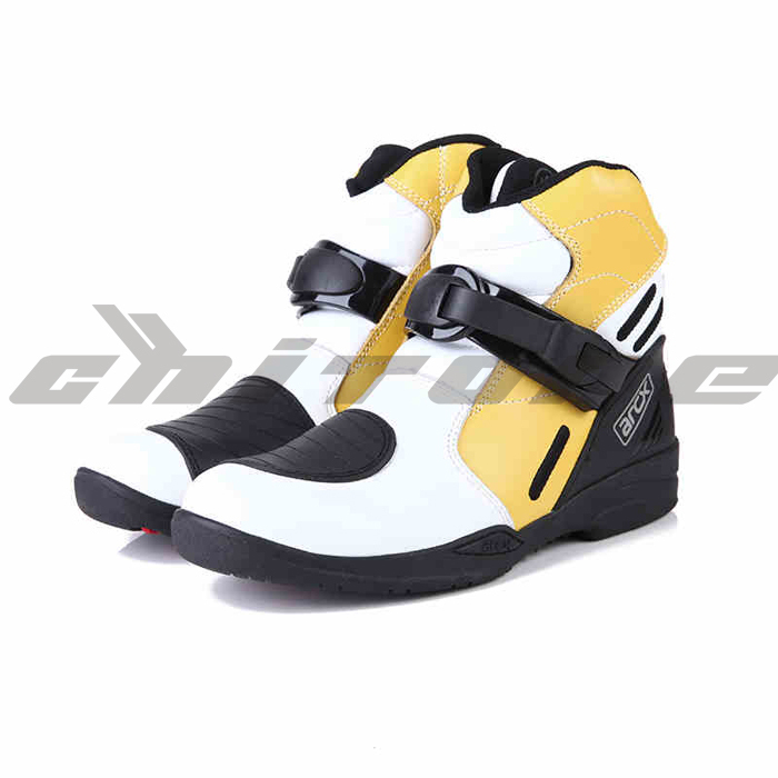 Shoes men Boot for motorcycle motorbike boots moto...