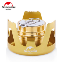 Naturehike Mini Portable Outdoor Portable Liquid Solid Alcohol Stove field stove Camping Vaporizing Solid Alcohol Camping Picnic