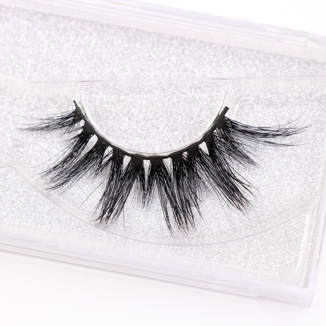 LEHUAMAO Eyelashes 3D Mink Eyelashes Criss-cross Strands Cruelty Free High Volume Mink Lashes Soft Dramatic Eye lashes E1 Makeup 2