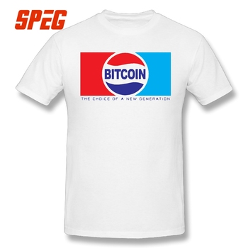 T-Shirt Bitcoin The Choice of a New Generation Pepsi