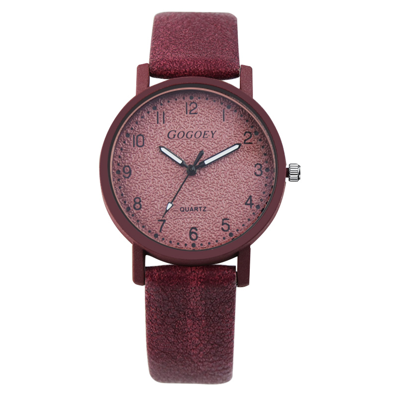 Gogoey Brand Women's Watches Fashion Leather Wrist Watch Women Watches Ladies Watch Clock Mujer Bayan Kol Saati Montre Feminino 15