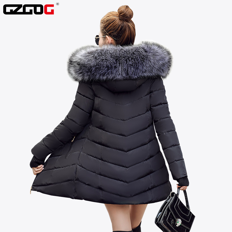 Coat Parka Jacket Padded Female Warm Women Winter Fashion Cotton New-Arrival Thicken