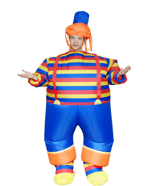 Carnival Party Suits Anime Cosplay Fat Man Inflatable Clown Costume Halloween Costumes Funny Dress  sc 1 st  Aliexpress & Online Shop Carnival Party Suits Anime Cosplay Fat Man Inflatable ...