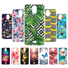 лучшая цена Custom Soft Silicone Case For Wiko Kenny Case Coque For Wiko Kenny Cover Flamingo Painted Case For Wiko Kenny Back Cover Fundas