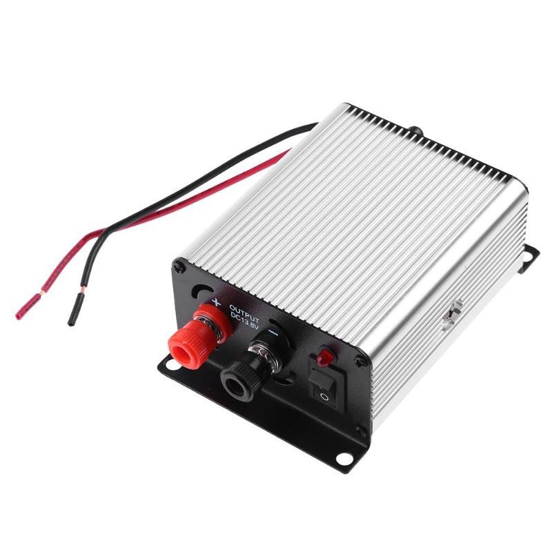 Mini Car Vehicular Interphone Power Supply 45A 24V to 13.8V Car Electronics Accessories Auto Transformer Converter Adapter