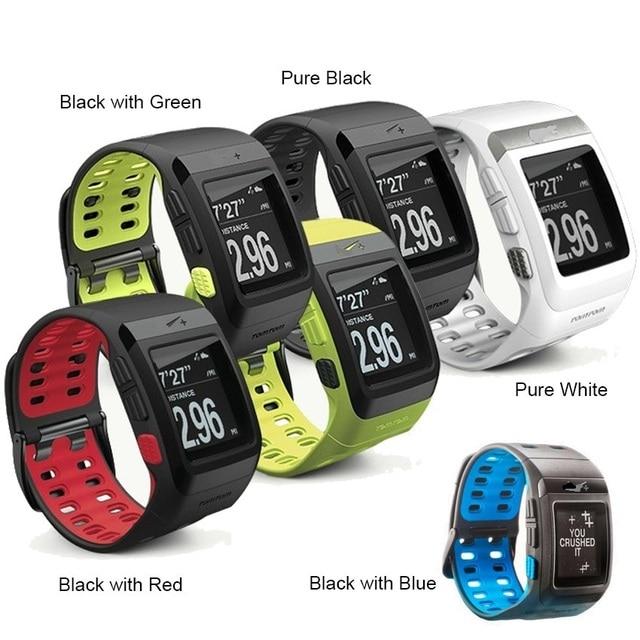 6b5fcf7f7 Original Tomtom Nike+ SportWatch GPS Heart Rate Running Smart Sport Running  Sensor Pedometer Watch 50m waterproof A1 DZ09 A9