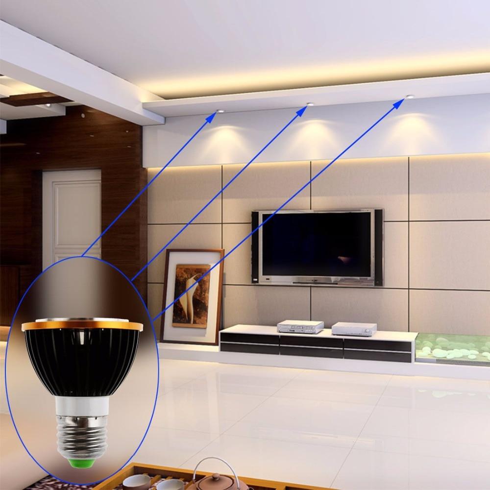 Image 4 - 1pcs Newest PAR20 COB dimmable E27 LED Spot Light 15W par20 Bulb Lamp Warm White/Cool White/Pure White Spot Downlight Lighting-in LED Bulbs & Tubes from Lights & Lighting