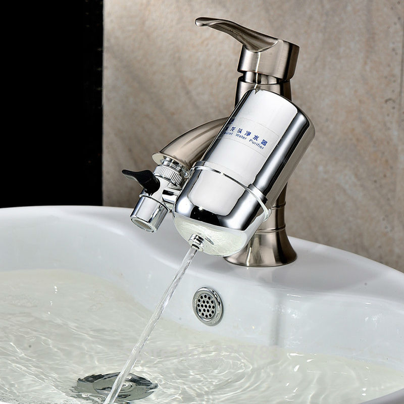 Household Faucet Mounted Alkaline Water Filter Universal Tap ...