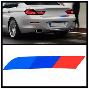 JEAZEA Car Trunk Stickers Decals Side Skirt Sticker For BMW e90 e46 f30 f10 f07 f34 x3 x4 x5 e70 f15 f16 x6 e71 M3 Car Styling image