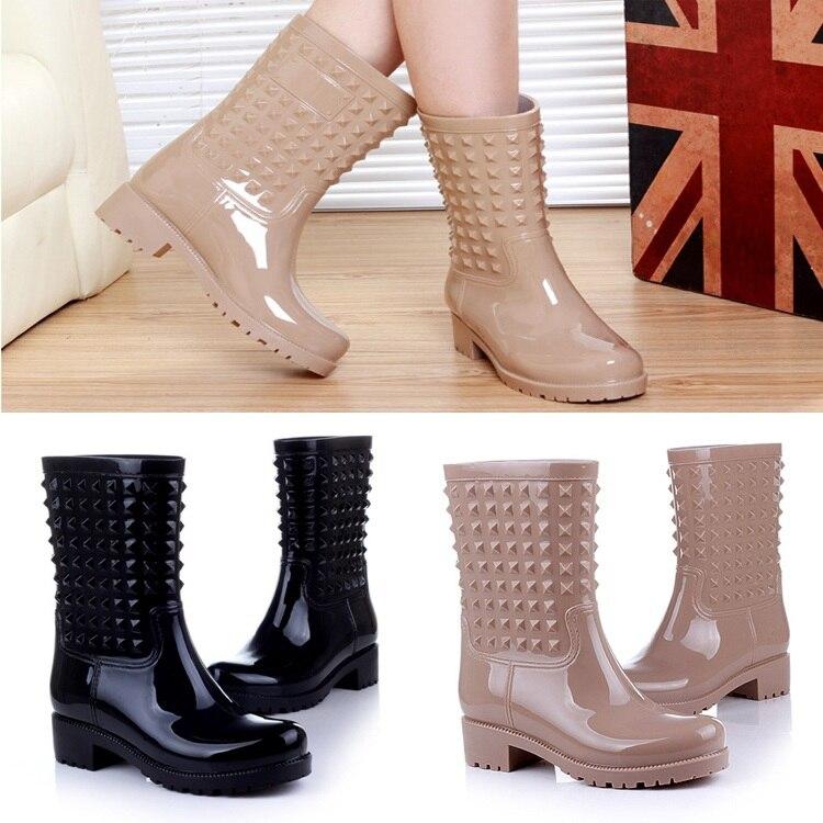 mejor valor oficial materiales de alta calidad Zapatos de agua mujer estilo de la revista remache ...