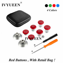 IVYUEEN 8 Pcs Swap Magnetic Thumbsticks for Playstation 4 Du