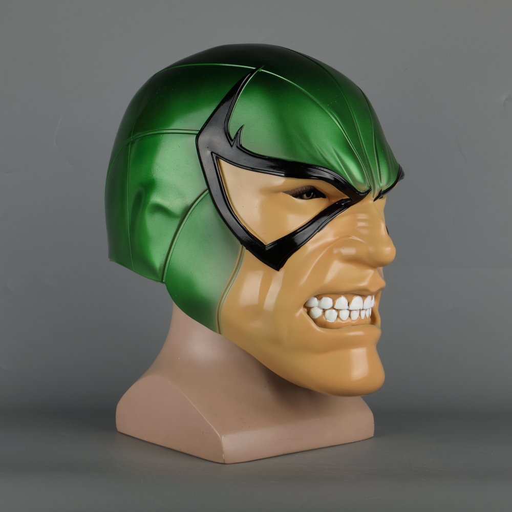 Spiderman Latex Mask PVC Scorpion Marvel Villain Masks Helmet MacDonald Mac Gargan Cosplay Prop Halloween Party (4)