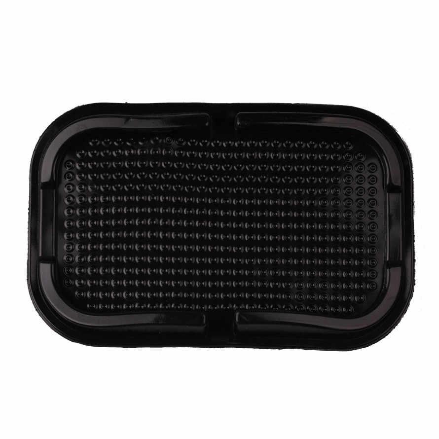 2017 سيارة مكافحة زلة وسادة مطاطية المحمول لزجة عصا لوحة القيادة الهاتف الجرف Antislip حصيرة ل GPS MP3 جهاز تسجيل فيديو رقمي للسيارات سيارة ملصق