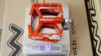Funn Python Bike MTB BMX DH Pedal one pair