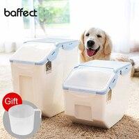 Dog Cat Food Barrel Large Capacity Pet Storage Grain Sealed Barrel Feed Fresh keeping Box Pet Feeders Pet Products