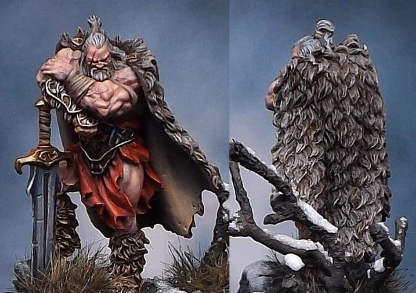 Resin Model Barbarian Dude Redux The Barbarian Dude 40mm цена 2016