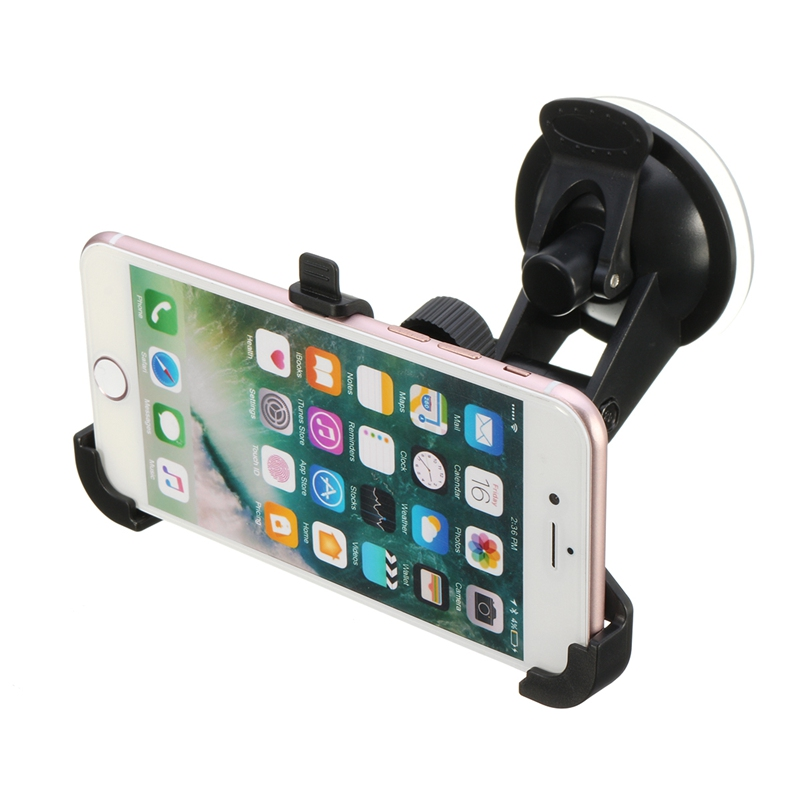 Car Windshield Suction Universal 360 Degree Rotation Phone Mount Holder Cradle Dash Suct ...
