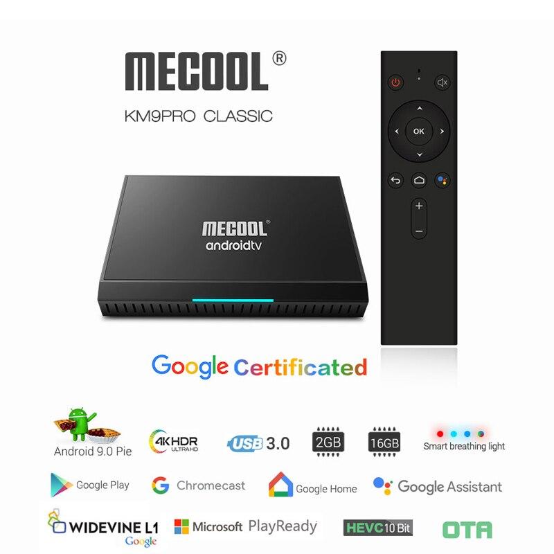 Amlogic S905X2 Android 9.0 Pie ATV TV Box Google certifié voix décodeur à distance 2G 16G Mini PC intelligent 2.4G Wifi Bluetooth
