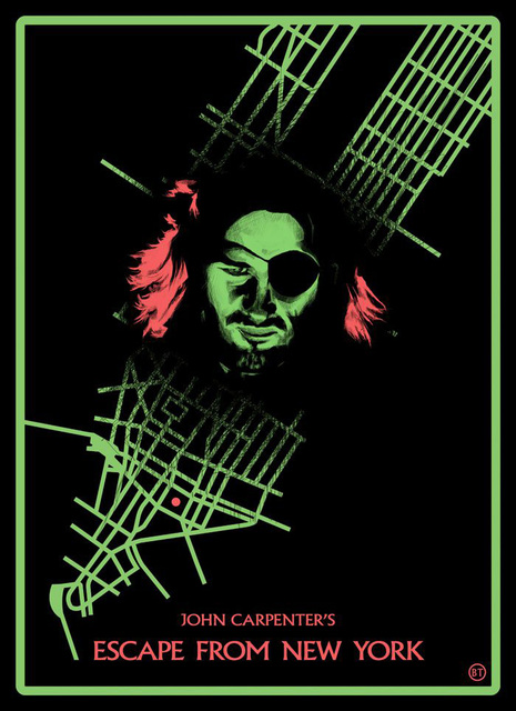 Escape From New York Poster.Escape From New York Music Vintage Retro Canvas Painting Paintings