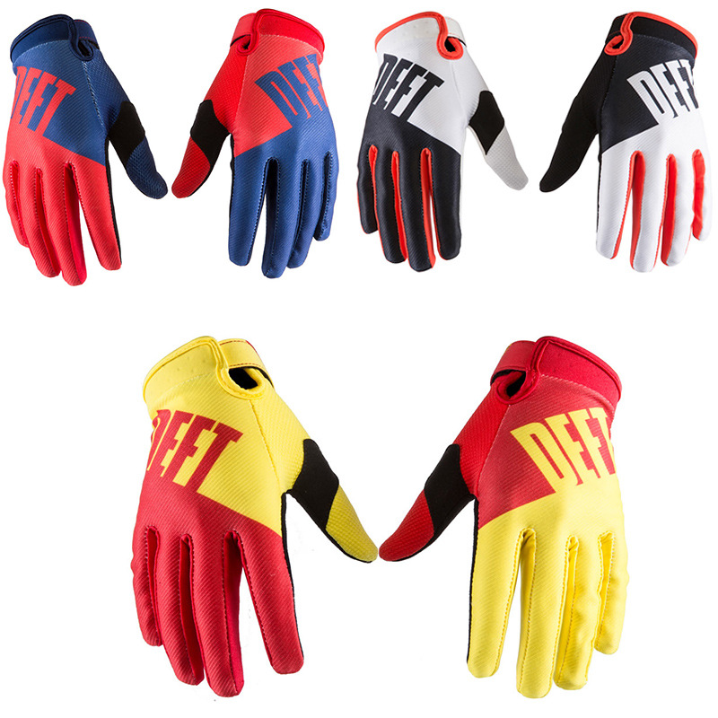 Factory Soft Cycling Gloves Bicycle bike Team Sport Mountain MTB Cycling Glove motocross moto outdoor cool gloves