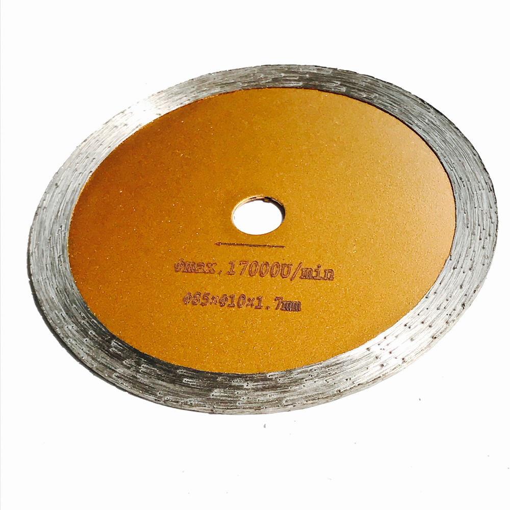 Free Shipping Of 1pc Diamond 85*10/15*1.7mm Mini Cutting Blades For Marble/granite/tile For Marching Most Brands Machines