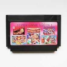 New arrival 8 bit game cartridge classical game card - super game 150 in 1