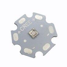 Специальное предложение 10 шт. чип Everlight 3 Вт 3535 УФ ультрафиолетового фиолетового цвета высокой мощности Светодиодный светильник излучатель 380nm 395nm 420nm