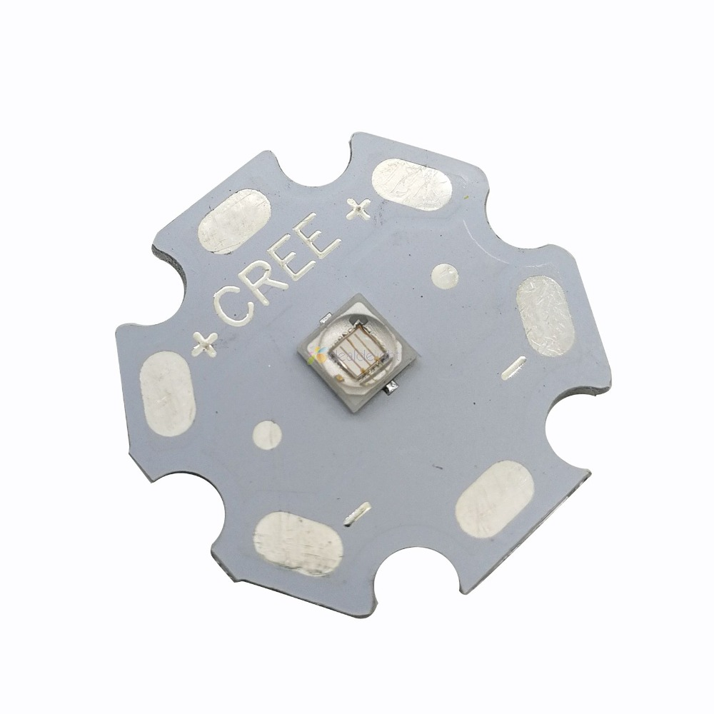 Special offer 10pcs EverLight chip 3W 3535 UV Ultraviolet Purple Color High Power LED Light Emitter 380nm 395nm <font><b>420nm</b></font> image