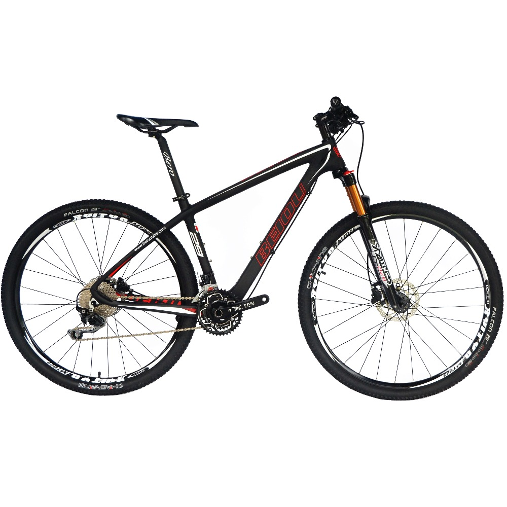 BEIOU Carbon Fiber Mountain Bike 29er Bicycle 29 Inch MTB T800 Ultralight Frame 30 Speed SHI